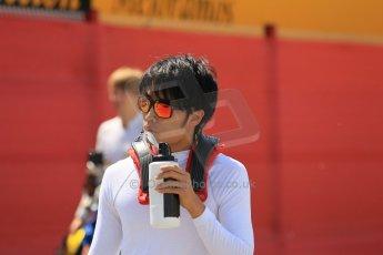 World © Octane Photographic Ltd. Friday 8th May 2015. ART Grand Prix – Nobuharu Matsushita. GP2 Qualifying – Circuit de Barcelona–Catalunya. Spain. Digital Ref. : 1252CB1L6728