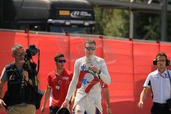 World © Octane Photographic Ltd. Friday 8th May 2015. Trident – Raffaele Marciello. GP2 Qualifying – Circuit de Barcelona–Catalunya. Spain. Digital Ref. : 1252CB1L6763