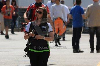 World © Octane Photographic Ltd. Friday 8th May 2015. Status GP - Victoria Lloyd. GP2 Qualifying – Circuit de Barcelona–Catalunya. Spain. Digital Ref. : 1252CB5D1198