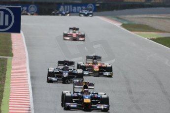 World © Octane Photographic Ltd. Friday 8th May 2015. DAMS – Pierre Gasly. GP2 Qualifying – Circuit de Barcelona–Catalunya. Spain. Digital Ref. : 1252CB5D1260