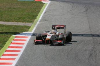 World © Octane Photographic Ltd. Friday 8th May 2015. Campos Racing – Arthur Pic. GP2 Qualifying – Circuit de Barcelona–Catalunya. Spain. Digital Ref. : 1252CB5D1328