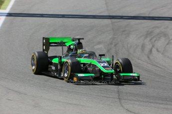 World © Octane Photographic Ltd. Friday 8th May 2015. Status Grand Prix – Marlon Stockinger. GP2 Qualifying – Circuit de Barcelona–Catalunya. Spain. Digital Ref. : 1252CB5D1403