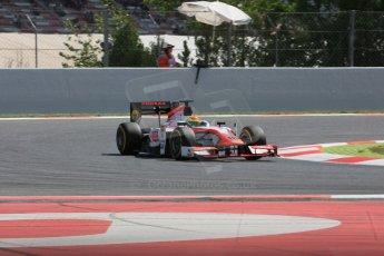 World © Octane Photographic Ltd. Friday 8th May 2015. MP Motorsport – Sergio Canamasas. GP2 Qualifying – Circuit de Barcelona–Catalunya. Spain. Digital Ref. : 1252CB5D1430