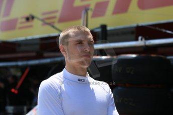 World © Octane Photographic Ltd. Saturday 9th May 2015. Rapax – Sergey Sirotkin. GP2 Race 1 – Circuit de Barcelona–Catalunya. Spain. Digital Ref: