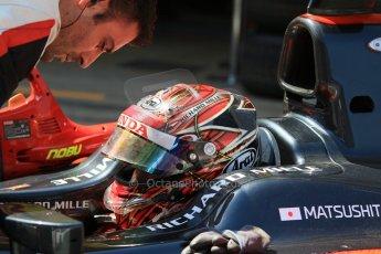 World © Octane Photographic Ltd. Saturday 9th May 2015. ART Grand Prix – Nobuharu Matsushita. GP2 Race 1 – Circuit de Barcelona–Catalunya. Spain. Digital Ref: