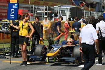 World © Octane Photographic Ltd. Saturday 9th May 2015. DAMS – Alex Lynn. GP2 Race 1 – Circuit de Barcelona–Catalunya. Spain. Digital Ref: