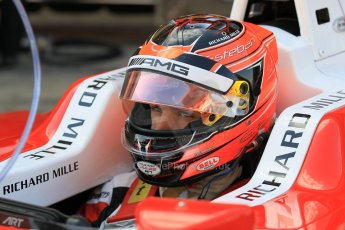 orld © Octane Photographic Ltd. Friday 8th May 2015. ART Grand Prix – Esteban Ocon. GP3 Practice – Circuit de Barcelona–Catalunya. Spain. Digital Ref. : 1253CB1L6874