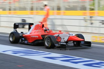 World © Octane Photographic Ltd. Friday 8th May 2015. Arden International – Aleksander Bosak. GP3 Practice – Circuit de Barcelona–Catalunya. Spain. Digital Ref. : 1253CB1L6970