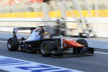 World © Octane Photographic Ltd. Friday 8th May 2015. Trident – Artur Janosz. GP3 Practice – Circuit de Barcelona–Catalunya. Spain. Digital Ref. : 1253CB1L7027