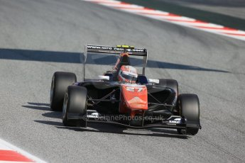 World © Octane Photographic Ltd. Saturday 9th May 2015. Trident – Luca Ghiotto. GP3 Qualifying – Circuit de Barcelona–Catalunya. Spain. Digital Ref: 1255LB1D7765