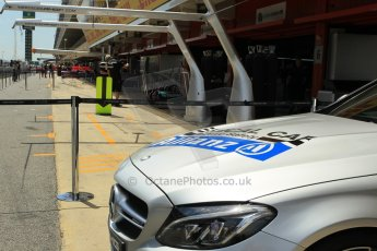 World © Octane Photographic Ltd. Mercedes AMG C63 Estate Medical Car. Thursday 7th May 2015, F1 Spanish GP Pitlane, Circuit de Barcelona-Catalunya, Spain. Digital Ref: 1244CB1L5870