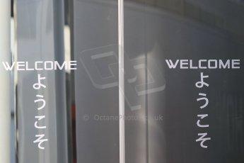 World © Octane Photographic Ltd. McLaren Honda Brand Centre. Thursday 7th May 2015, F1 Spanish GP Paddock, Circuit de Barcelona-Catalunya, Spain. Digital Ref: 1244CB7D1218