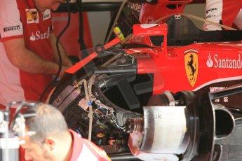 World © Octane Photographic Ltd. Scuderia Ferrari SF15-T. Thursday 7th May 2015, F1 Spanish GP Pitlane, Circuit de Barcelona-Catalunya, Spain. Digital Ref: 1244CB7D1247