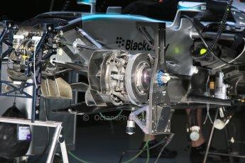 World © Octane Photographic Ltd. Mercedes AMG Petronas F1 W06 Hybrid. Thursday 7th May 2015, F1 Spanish GP Pitlane, Circuit de Barcelona-Catalunya, Spain. Digital Ref: 1244CB7D1280