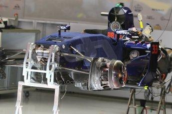 World © Octane Photographic Ltd. Scuderia Toro Rosso STR10. Thursday 7th May 2015, F1 Spanish GP Pitlane, Circuit de Barcelona-Catalunya, Spain. Digital Ref: 1244CB7D1318