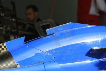 World © Octane Photographic Ltd. Sauber F1 Team C34-Ferrari. Thursday 7th May 2015, F1 Spanish GP Pitlane, Circuit de Barcelona-Catalunya, Spain. Digital Ref: 1244CB7D1341