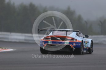 World © Octane Photographic Ltd. FIA World Endurance Championship (WEC), 6 Hours of Nurburgring , Germany - Practice, Friday 28th August 2015. Aston Martin Racing – Aston Martin Vantage V8 - LMGTE Pro – Marco Sorensen and Christoffer Nygaard. Digital Ref : 1392LB1D3063