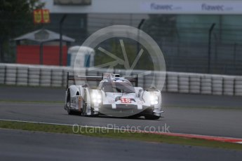 World © Octane Photographic Ltd. FIA World Endurance Championship (WEC), 6 Hours of Nurburgring , Germany - Practice, Friday 28th August 2015. Porsche Team – Porsche 919 Hybrid - LM LMP1 – Romain Dumas, Neel Jani and Marc Lieb. Digital Ref : 1392LB1D3142
