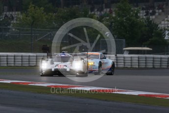 World © Octane Photographic Ltd. FIA World Endurance Championship (WEC), 6 Hours of Nurburgring , Germany - Practice, Friday 28th August 2015. Porsche Team – Porsche 919 Hybrid - LM LMP1 – Romain Dumas, Neel Jani and Marc Lieb and Aston Martin Racing – Aston Martin Vantage V8 - LMGTE Pro – Marco Sorensen and Christoffer Nygaard. Digital Ref : 1392LB1D3233