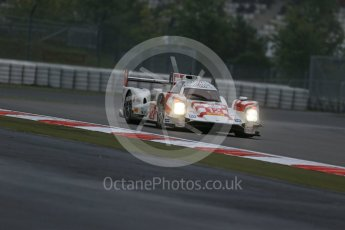World © Octane Photographic Ltd. FIA World Endurance Championship (WEC), 6 Hours of Nurburgring , Germany - Practice, Friday 28th August 2015. Rebellion Racing – Rebellion R-One - LMP1 - Nicolas Prost, Nick Heidfeld and Mathias Beche. Digital Ref : 1392LB1D3256