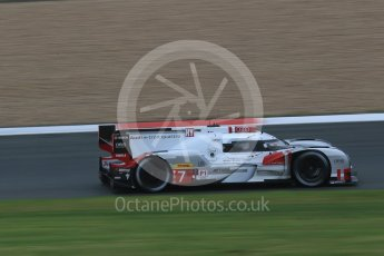 World © Octane Photographic Ltd. FIA World Endurance Championship (WEC), 6 Hours of Nurburgring , Germany - Practice, Friday 28th August 2015. Audi Sport Team Joest- Audi R18 e-tron Quatrro - LMP1 - Andre Lotterer, Benoit Treluyer and Marcel Fassler. Digital Ref : 1392LB1D3433