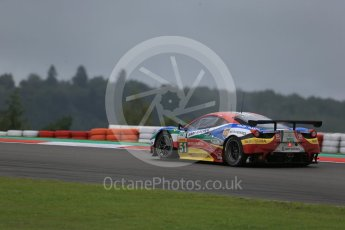 World © Octane Photographic Ltd. FIA World Endurance Championship (WEC), 6 Hours of Nurburgring , Germany - Practice, Friday 28th August 2015. AF Corse – Ferrari F458 Italia GT2 - LMGTE Pro – Gianmaria Bruni, Toni Vilander. Digital Ref : 1392LB1D3564