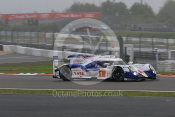 World © Octane Photographic Ltd. FIA World Endurance Championship (WEC), 6 Hours of Nurburgring , Germany - Practice, Friday 28th August 2015. Toyota Racing – Toyota TS040 Hybrid - LMP1 - Anthony Davidson, Sebastien Buemi and Kazuki Nakajima. Digital Ref : 1392LB7D4826