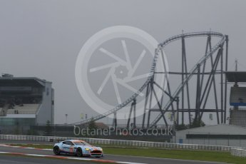 World © Octane Photographic Ltd. FIA World Endurance Championship (WEC), 6 Hours of Nurburgring , Germany - Practice, Friday 28th August 2015. Aston Martin Racing – Aston Martin Vantage GTE - LMGTE Am – Roalde Goethe, Stuart Hall and Francesco Castellacci. Digital Ref : 1392LB7D4991