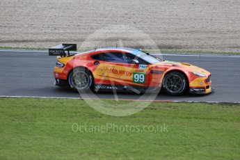 World © Octane Photographic Ltd. FIA World Endurance Championship (WEC), 6 Hours of Nurburgring , Germany - Press Conference, Friday 28th August 2015. Aston Martin Racing V8 – Aston Martin Vantage V8 - LMGTE Pro – Fernando Rees, Alex MacDowell and Richie Stanaway. Digital Ref : 1394LB5D0261