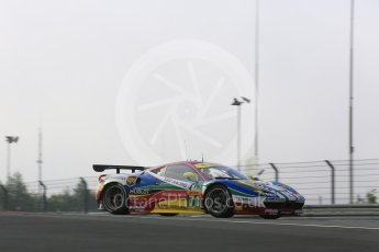 World © Octane Photographic Ltd. FIA World Endurance Championship (WEC), 6 Hours of Nurburgring , Germany - Practice 3, Saturday 29th August 2015. AF Corse – Ferrari F458 Italia GT2 - LMGTE Pro – Davide Rigon and James Calado. Digital Ref : 1395LB5D0513