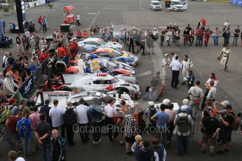 World © Octane Photographic Ltd. FIA World Endurance Championship (WEC), 6 Hours of Nurburgring , Germany - Qualifying Parc Ferme, Saturday 29th August 2015. Digital Ref : 1397LB1D6206
