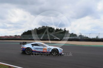 World © Octane Photographic Ltd. FIA World Endurance Championship (WEC), 6 Hours of Nurburgring , Germany - Qualifying, Saturday 29th August 2015. Aston Martin Racing – Aston Martin Vantage GTE - LMGTE Am – Roalde Goethe, Stuart Hall and Francesco Castellacci. Digital Ref : 1396LB1D5943