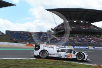 World © Octane Photographic Ltd. FIA World Endurance Championship (WEC), 6 Hours of Nurburgring , Germany - Qualifying, Saturday 29th August 2015. Porsche Team – Porsche 919 Hybrid - LM LMP1 – Romain Dumas, Neel Jani and Marc Lieb. Digital Ref : 1396LB1D5966