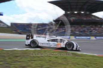 World © Octane Photographic Ltd. FIA World Endurance Championship (WEC), 6 Hours of Nurburgring , Germany - Qualifying, Saturday 29th August 2015. Porsche Team – Porsche 919 Hybrid - LM LMP1 – Romain Dumas, Neel Jani and Marc Lieb. Digital Ref : 1396LB1D6027