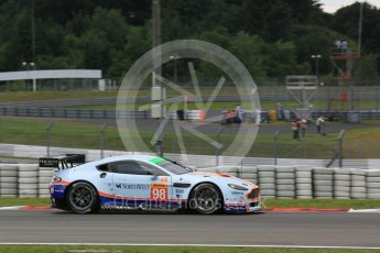 World © Octane Photographic Ltd. FIA World Endurance Championship (WEC), 6 Hours of Nurburgring , Germany - Qualifying, Saturday 29th August 2015. Aston Martin Racing - Aston Martin Vantage GTE – LMGTE Am – Paul Dalla Lana, Pedro Lamy and Mathias Lauda. Digital Ref : 1396LB5D0701