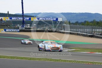 World © Octane Photographic Ltd. FIA World Endurance Championship (WEC), 6 Hours of Nurburgring , Germany - Qualifying, Saturday 29th August 2015. Aston Martin Racing – Aston Martin Vantage GTE - LMGTE Am – Roalde Goethe, Stuart Hall and Francesco Castellacci and LMGTE Pro – Marco Sorensen and Christoffer Nygaard. Digital Ref : 1396LB5D0732