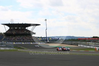 World © Octane Photographic Ltd. FIA World Endurance Championship (WEC), 6 Hours of Nurburgring , Germany - Qualifying, Saturday 29th August 2015. SMP Racing – Ferrari F458 Italia GT2 - LMGTE Am – Viktor Shaitar, Aleksey Basov and Andrea Bertolini. Digital Ref : 1396LB5D0794