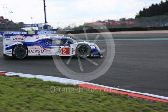 World © Octane Photographic Ltd. FIA World Endurance Championship (WEC), 6 Hours of Nurburgring , Germany - Qualifying, Saturday 29th August 2015. Toyota Racing – Toyota TS040 Hybrid - LMP1 - Alexander Wurz, Stephane Sarrazin and Mike Conway. Digital Ref : 1396LB5D1044