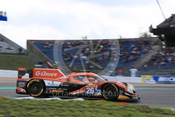 World © Octane Photographic Ltd. FIA World Endurance Championship (WEC), 6 Hours of Nurburgring , Germany - Qualifying, Saturday 29th August 2015. G-Drive Racing – Nissan Ligier JS P2 – LMP2 – Roman Rusinov, Julien Canal and Sam Bird. Digital Ref : 1396LB5D1053