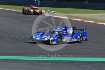 World © Octane Photographic Ltd. FIA World Endurance Championship (WEC), 6 Hours of Nurburgring , Germany - Race, Sunday 30th August 2015. KCMG – Oreca 05 – LMP2 – Matthew Howson, Richard Bradley and Nick Tandy and G-Drive Racing – Nissan Ligier JS P2 – LMP2 – Roman Rusinov, Julien Canal and Sam Bird. Digital Ref : 1398LB1D6421