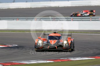 World © Octane Photographic Ltd. FIA World Endurance Championship (WEC), 6 Hours of Nurburgring , Germany - Race, Sunday 30th August 2015. G-Drive Racing – Nissan Ligier JS P2 – LMP2 – Roman Rusinov, Julien Canal and Sam Bird. Digital Ref : 1398LB1D6710