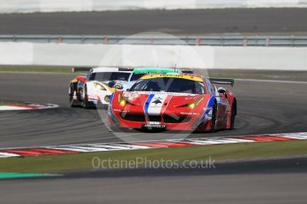 World © Octane Photographic Ltd. FIA World Endurance Championship (WEC), 6 Hours of Nurburgring , Germany - Race, Sunday 30th August 2015. AF Corse - F458 Italia GT2 - LMGTE - LMGTE Am – Francois Perrodo, Emmanuel Collard and Rui Aguas, Aston Martin Racing - Aston Martin Vantage GTE – LMGTE Am – Paul Dalla Lana, Pedro Lamy and Mathias Lauda and Labre Competition – Chevrolet Corvette C7.R - LMGTE Am – Gianluca Roda, Paolo Ruberti and Kristian Poulson. Digital Ref : 1398LB1D6796