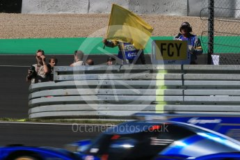 World © Octane Photographic Ltd. FIA World Endurance Championship (WEC), 6 Hours of Nurburgring , Germany - Race, Sunday 30th August 2015. Yellow flag. Digital Ref : 1398LB5D1231