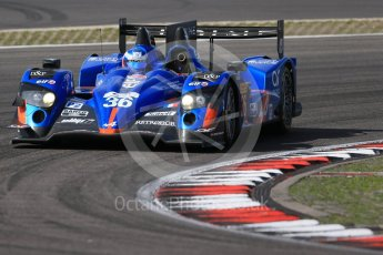 World © Octane Photographic Ltd. FIA World Endurance Championship (WEC), 6 Hours of Nurburgring , Germany - Race, Sunday 30th August 2015. Signatech Alpine – Alpine A450b - LMP2 - Nelson Panciatici, Paul-Loup Chatin and Vincent Capillaire. Digital Ref : 1398LB1D7534