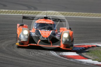 World © Octane Photographic Ltd. FIA World Endurance Championship (WEC), 6 Hours of Nurburgring , Germany - Race, Sunday 30th August 2015. G-Drive Racing – Nissan Ligier JS P2 – LMP2 – Gustavo Yacaman, Ricardo Gonzalez and Luis Felipe Derani. Digital Ref : 1398LB1D7625
