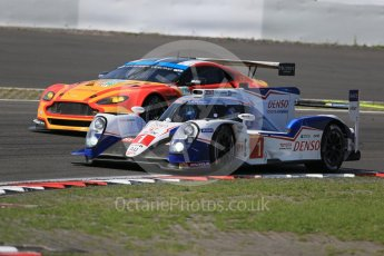 World © Octane Photographic Ltd. FIA World Endurance Championship (WEC), 6 Hours of Nurburgring , Germany - Race, Sunday 30th August 2015. Toyota Racing – Toyota TS040 Hybrid - LMP1 - Anthony Davidson, Sebastien Buemi and Kazuki Nakajima and Aston Martin Racing V8 – Aston Martin Vantage V8 - LMGTE Pro – Fernando Rees, Alex MacDowell and Richie Stanaway. Digital Ref : 1398LB1D7688