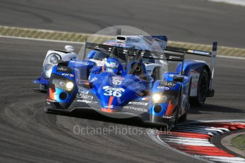World © Octane Photographic Ltd. FIA World Endurance Championship (WEC), 6 Hours of Nurburgring , Germany - Race, Sunday 30th August 2015. Signatech Alpine – Alpine A450b - LMP2 - Nelson Panciatici, Paul-Loup Chatin and Vincent Capillaire. Digital Ref : 1398LB1D7837