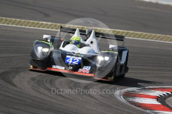 World © Octane Photographic Ltd. FIA World Endurance Championship (WEC), 6 Hours of Nurburgring , Germany - Race, Sunday 30th August 2015. Straka Racing – Gibson 015S - LMP2 – Nick Leventis, Jonny Kane and Danny Watts. Digital Ref : 1398LB1D7852