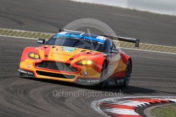 World © Octane Photographic Ltd. FIA World Endurance Championship (WEC), 6 Hours of Nurburgring , Germany - Race, Sunday 30th August 2015. Aston Martin Racing V8 – Aston Martin Vantage V8 - LMGTE Pro – Fernando Rees, Alex MacDowell and Richie Stanaway. Digital Ref : 1398LB1D7860