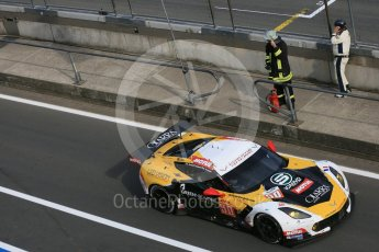 World © Octane Photographic Ltd. FIA World Endurance Championship (WEC), 6 Hours of Nurburgring , Germany - Race, Sunday 30th August 2015. Labre Competition – Chevrolet Corvette C7.R - LMGTE Am – Gianluca Roda, Paolo Ruberti and Kristian Poulson. Digital Ref : 1398LB5D1500